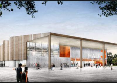 Palais des congrès de St BRIEUC à PLOUFRAGAN (22)