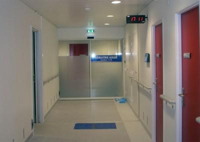Hôpital Pontchaillou à RENNES (35)