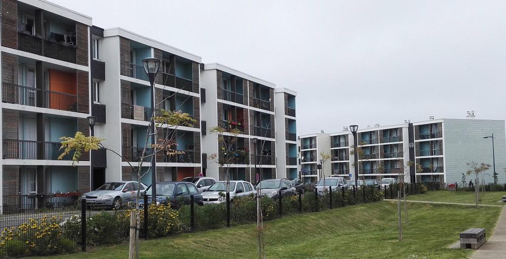 Réhabilitation Thermique de logements à St BRIEUC (22)