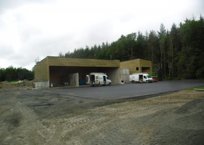 Chaufferie Centrale biomasse 320 kW et d'un réseau de chaleur à SAINT JACUT DU MENE (22)
