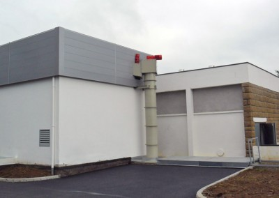 Construction d'une chaufferie centrale biomasse (320 kW) à LANNION (22)