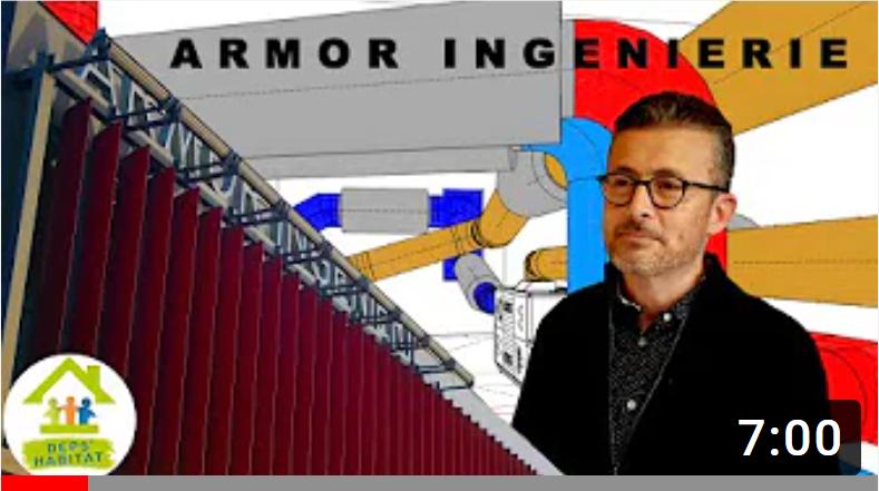 Reportage sur Armor Ingénierie (réalisé par DEPS Habitat)